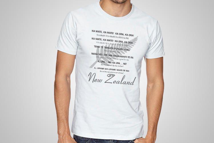 Haka Meaning Kiwiana T-Shirts