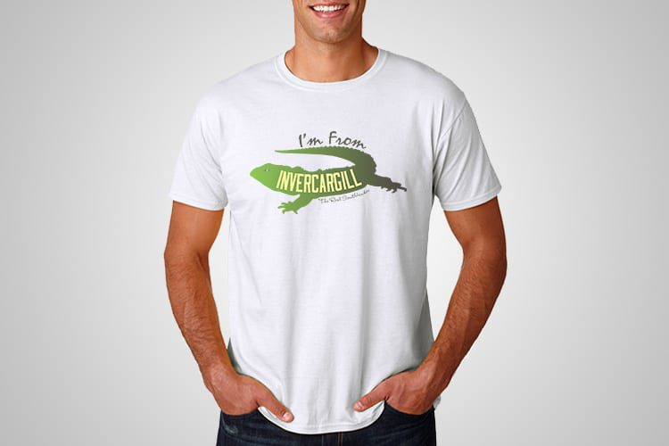 Invercargill Kiwiana T-Shirts