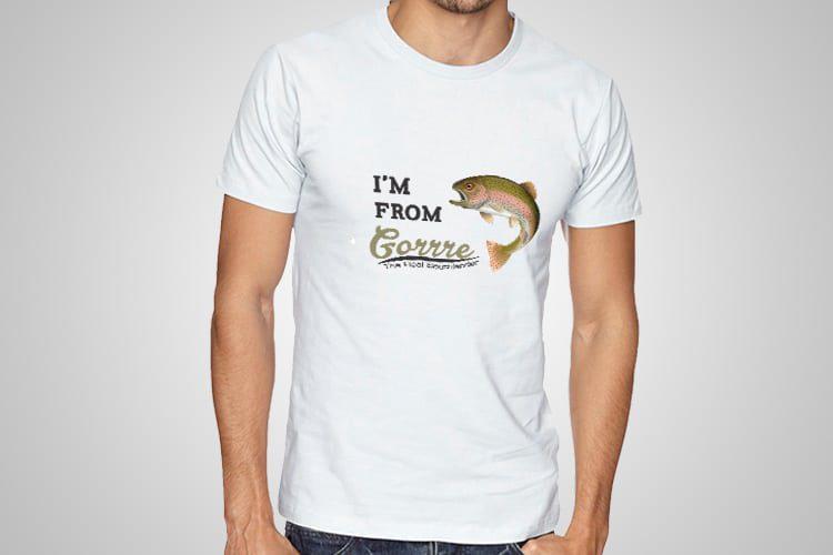I'm from Gorrre Kiwiana T-Shirts