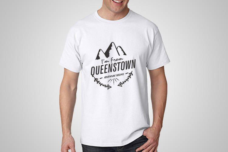 Queenstown Kiwiana T-Shirts
