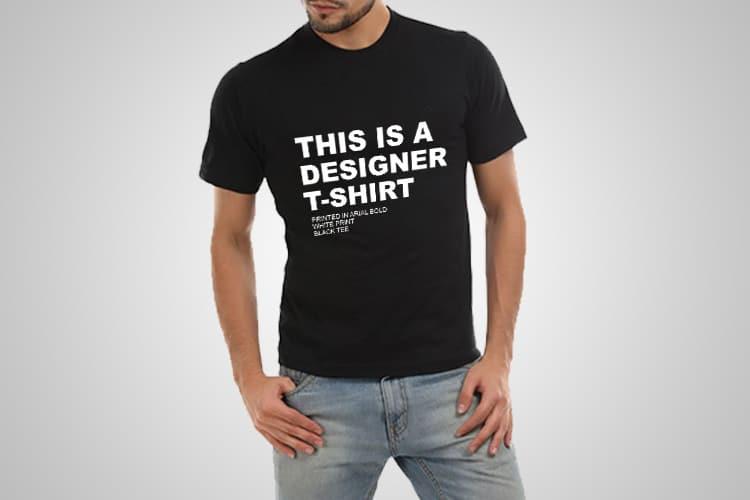 Designer T-Shirt Printed T-Shirt