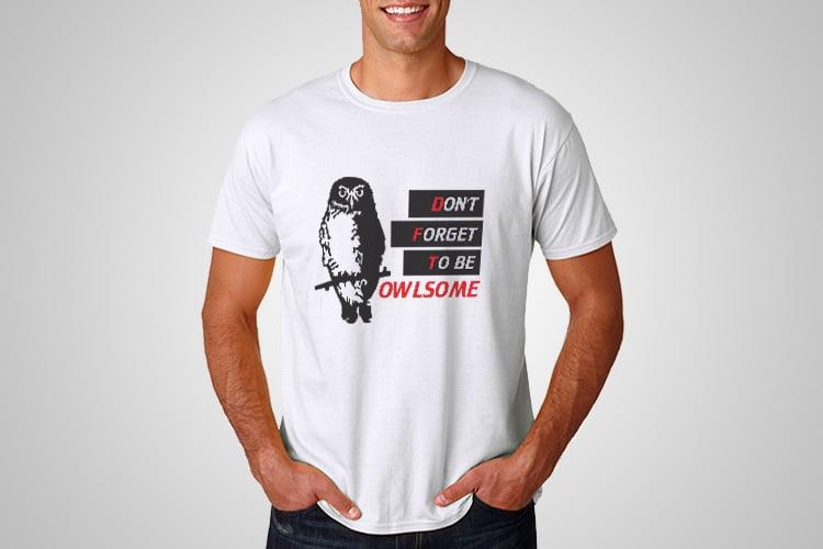 Owlsome Printed T-Shirt