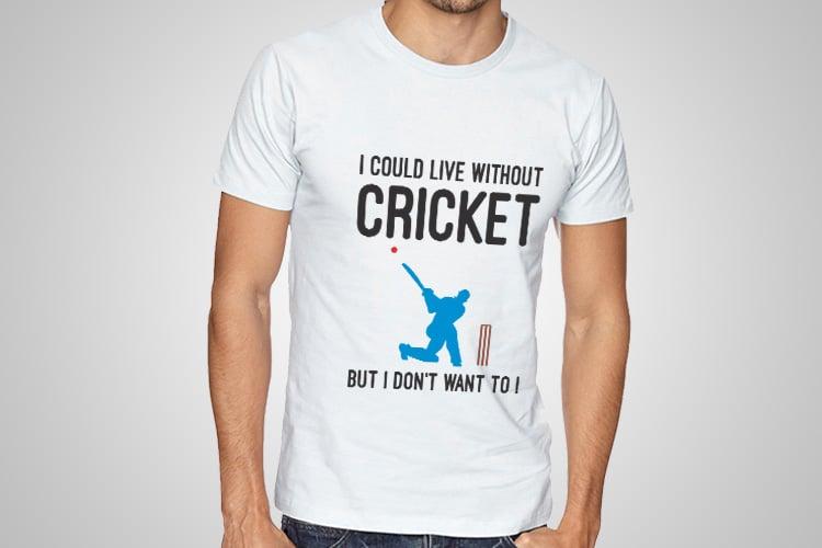 Cricket Printed T-Shirt
