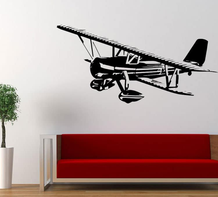 Air Plane Wall Decal