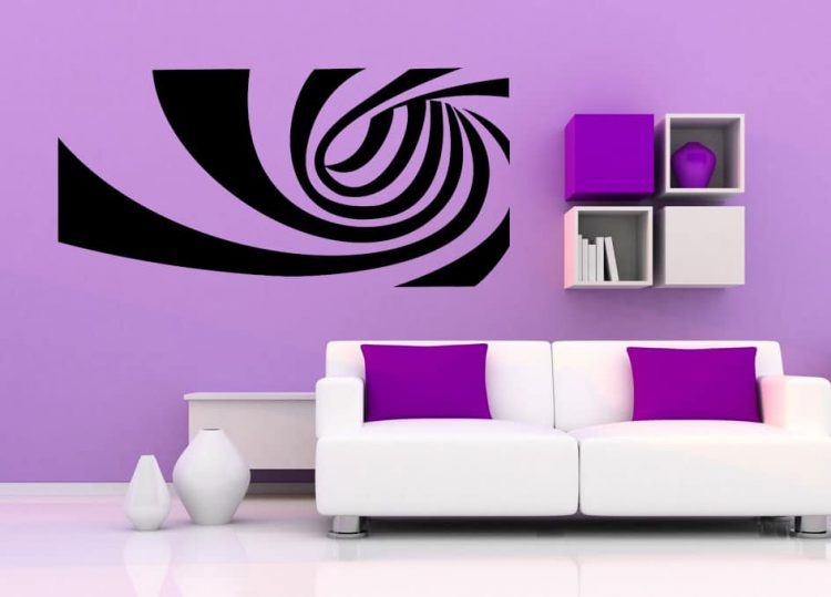 Spiral Wall Decal