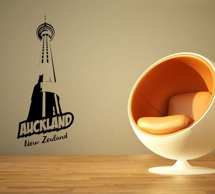 Auckland Wall Decal
