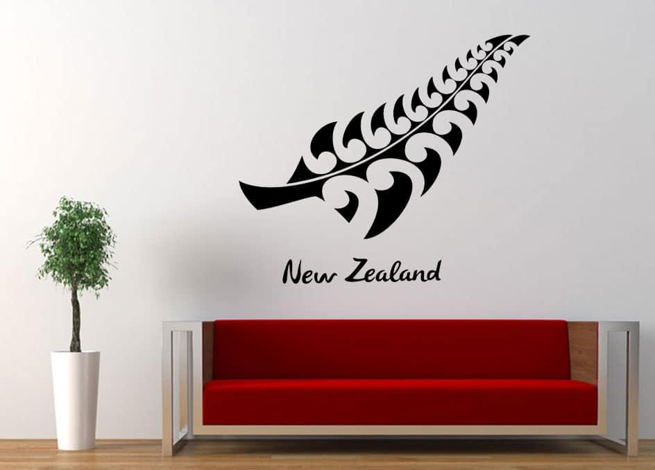 Fern Leaf NZ Wall Decal | Wall Stickers