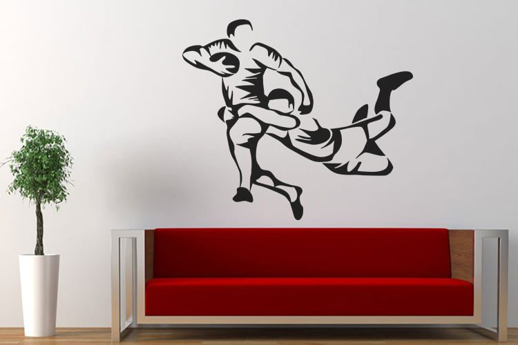 Scary Jocker Wall Decal