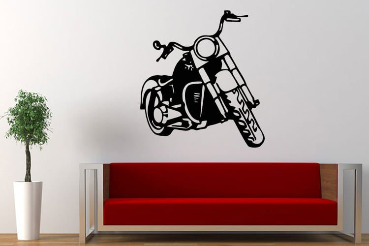 Motorbike Wall Decal