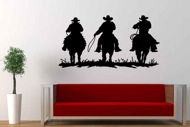 Cowboys Wall Decal
