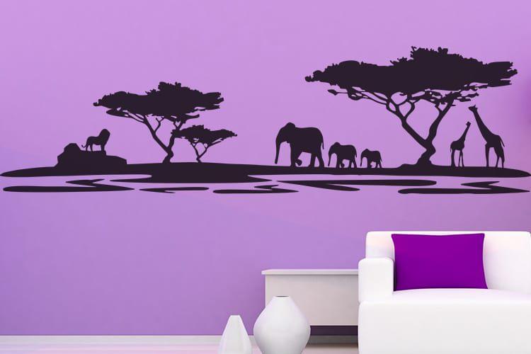 African Safari Wall Decal