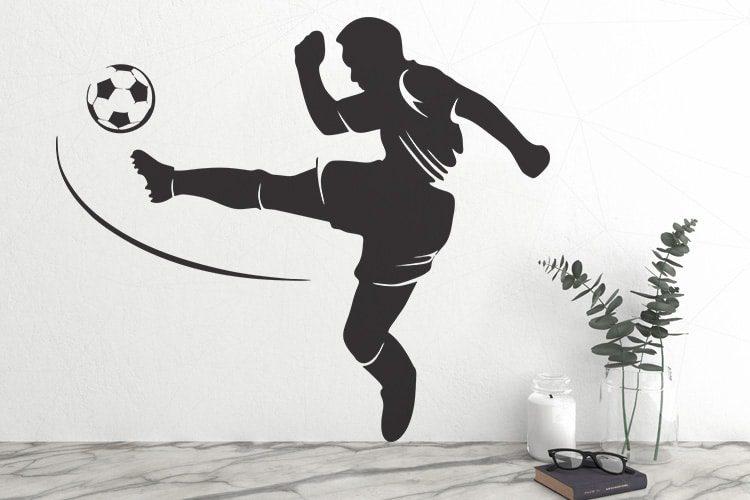 Football Wall Decal