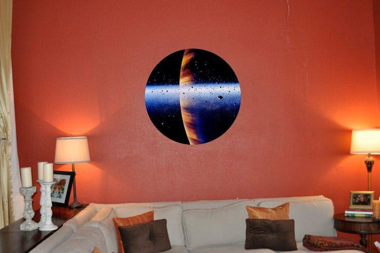 Meteorites Wall Dot