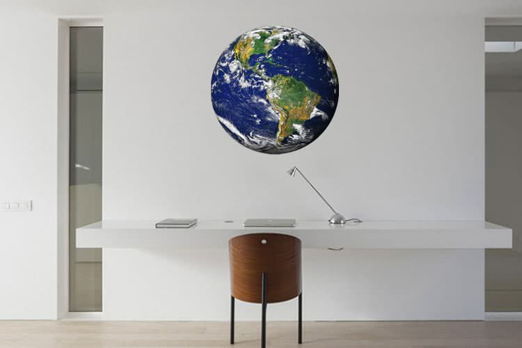 Globe Wall Dot