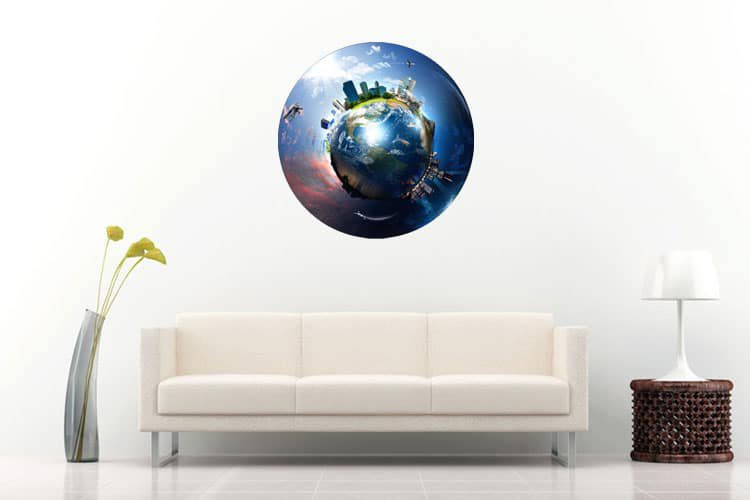 Mordern Earth Wall Dot