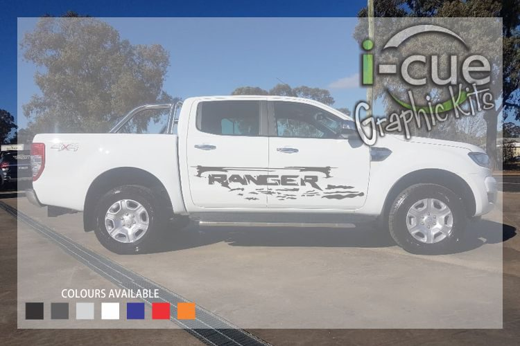 Ford Ranger Sides Fancy lettering