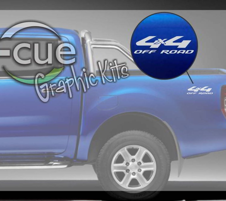 Ford Ranger 4x4 Off Road Decal