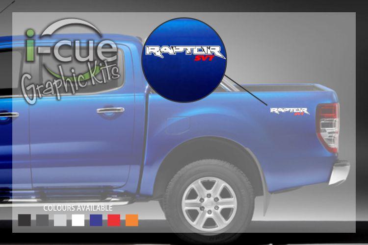 Ford Ranger Raptor SVT Decal
