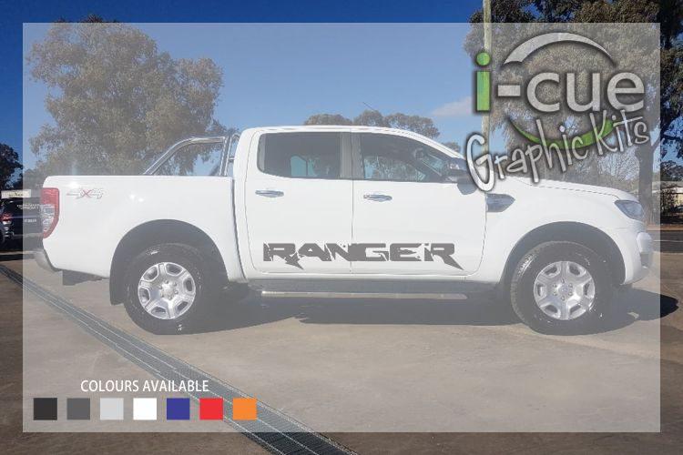 Ford Ranger Sides Ranger Lettering Decal