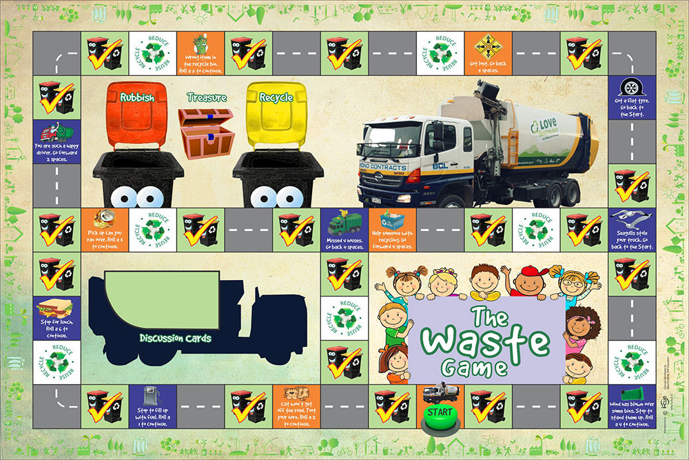 The Waste Board game