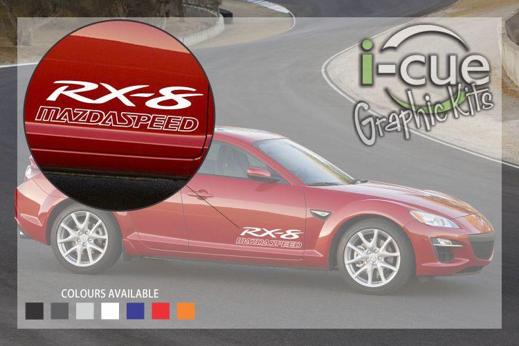Mazda Speed RX-8 Side Door Decal