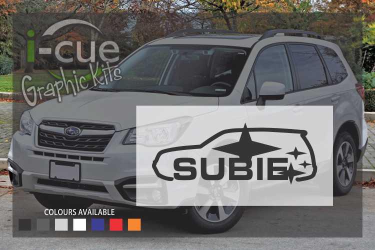 Subaru Subie Decal