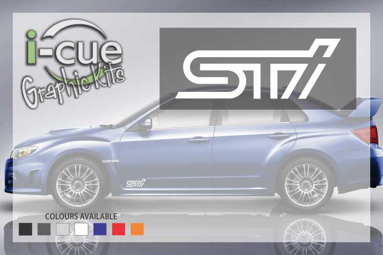 Subaru STI Decals