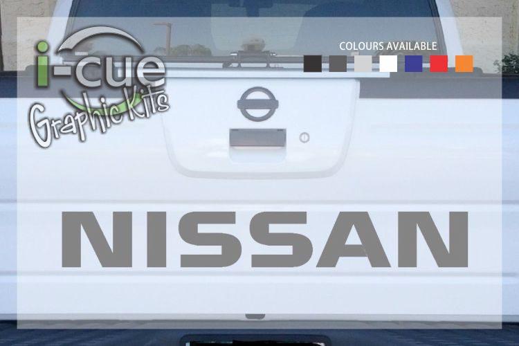 Nissan Navara Back Tailgate Lettering Decal