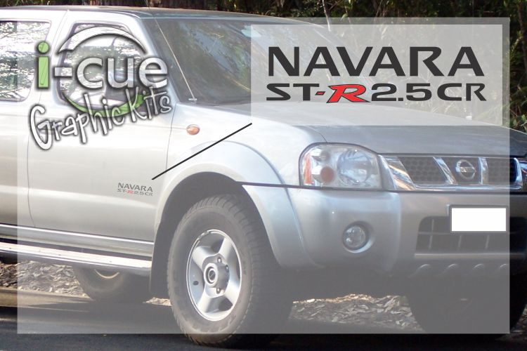 Nissan Navara ST-R 2.5CR Side Door Decal