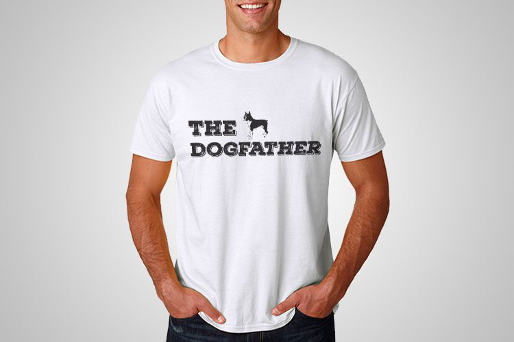 Dogfather Printed T-Shirt