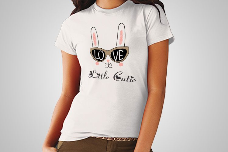 Little Cuttie Printed T-Shirt
