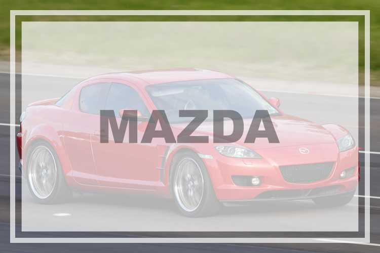 Mazda Vehicle Decals