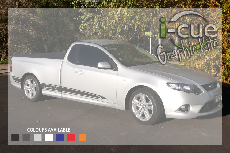 Ford Falcon FG Ute Side Stripes Decals