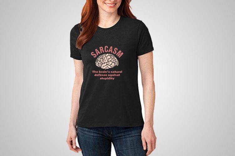 Sarcasm Definition Printed T-Shirts