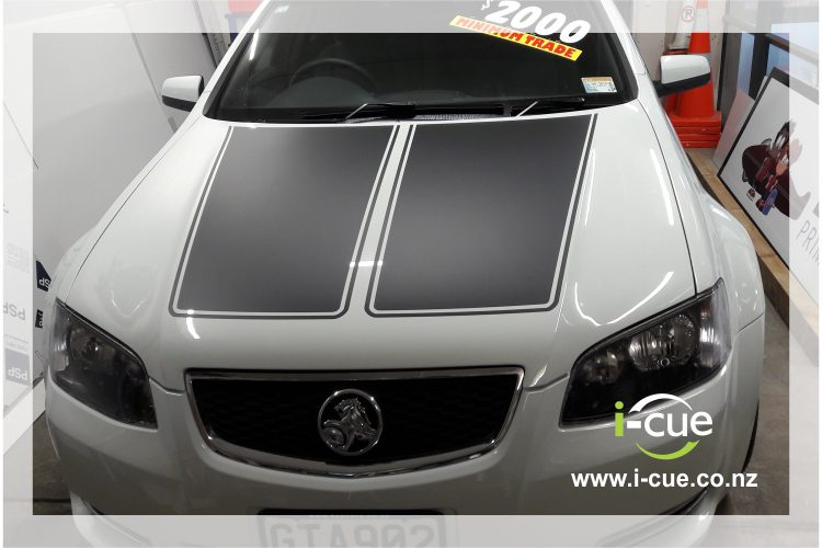 Holden Commodore Bonnet Top Decals