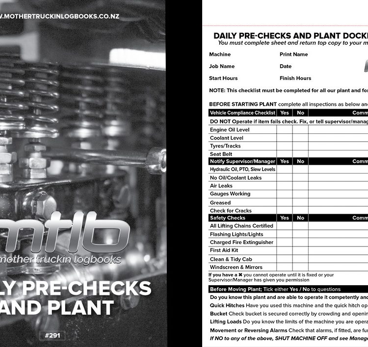 MTLB – Daily Pre-Check And Plant docket records book