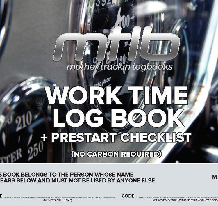 Worktime Log Book And Pre-Start Checklist